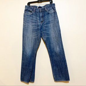 Gap Easy Fit Mens Straight leg Jeans Size 34x32